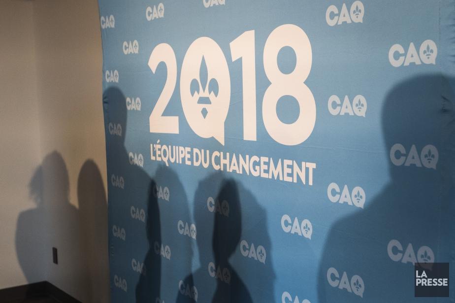 La CAQ formera le gouvernement majoritaire.... (Photo Ivanoh Demers, Archives La Presse)
