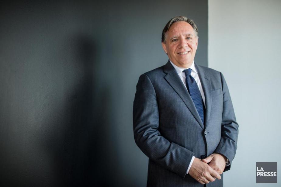 François Legault, chef de la Coalition avenir Québec.... (Photo Edouard Plante-Fréchette, La Presse)
