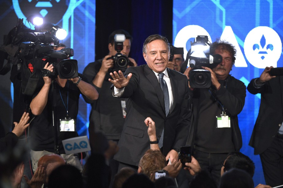 François Legault.... (Photo Paul Chiasson, La Presse canadienne)
