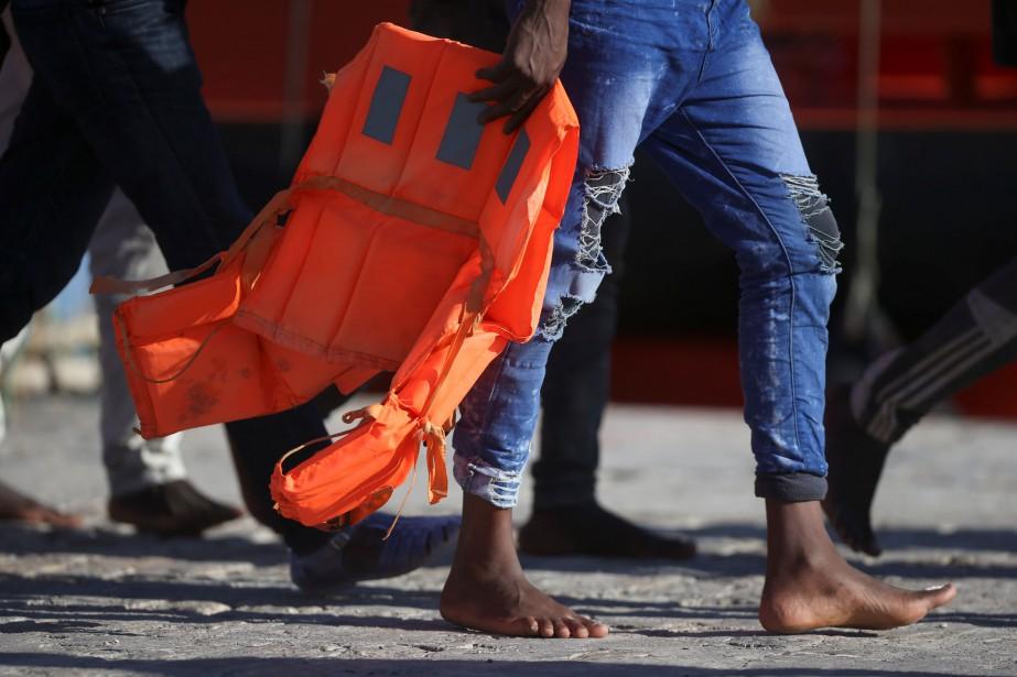 Des associations d'aide aux migrants ont évoqué un... (PHOTO ARCHIVES REUTERS)