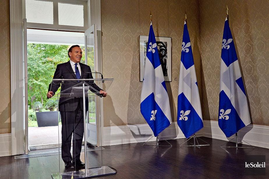 Le premier ministre désigné, François Legault, a donné... (Erick Labbé, Le Soleil)