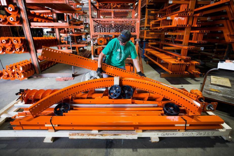 Le Groupe Valmetal regroupe cinq entreprises totalisant 400... (Photo Olivier PontBriand, La Presse)