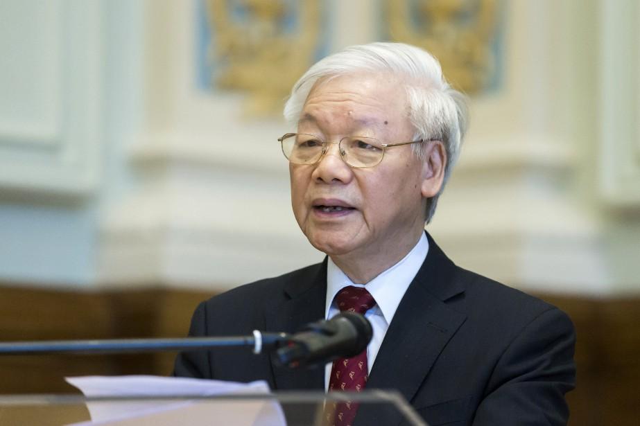 Nguyen Phu Trong a été élu en 2011... (PHOTO Balazs Mohai, ARCHIVES AP)