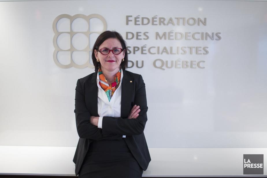 La présidente de la FMSQ, Diane Francoeur... (PHOTO OLIVIER PONTBRIAND, ARCHIVES LA PRESSE)