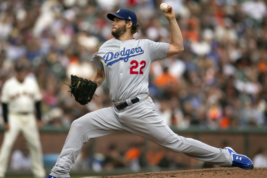 L'as lanceur des Dodgers de Los Angeles, Clayton... (Photo D. Ross Cameron, USA TODAY Sports)