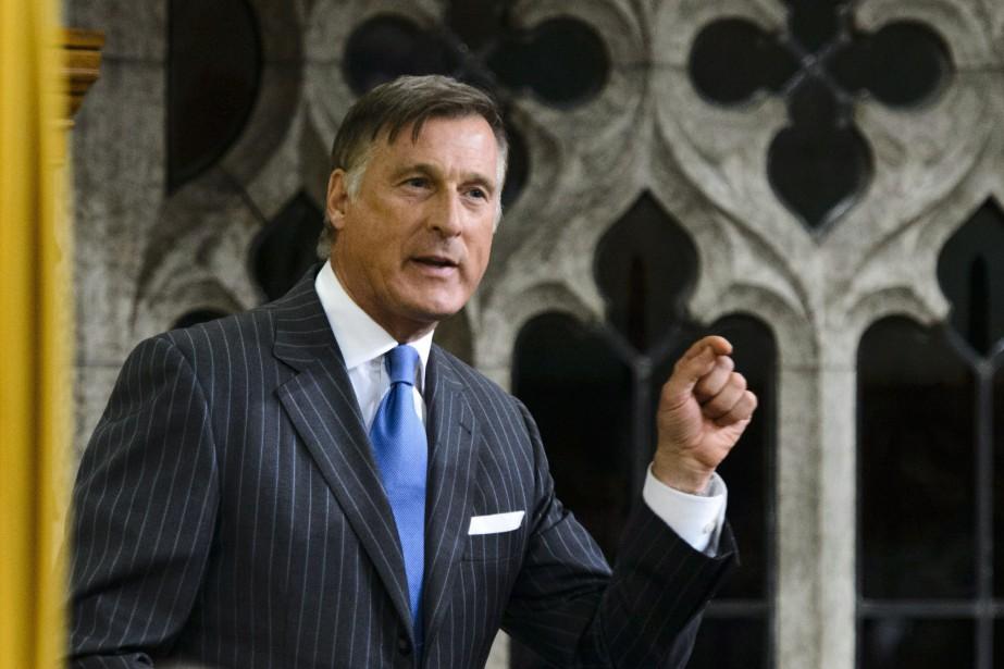 Le chef du Parti populaire du Canada, Maxime... (PHOTO Sean Kilpatrick, ARCHIVES LA PRESSE CANADIENNE)