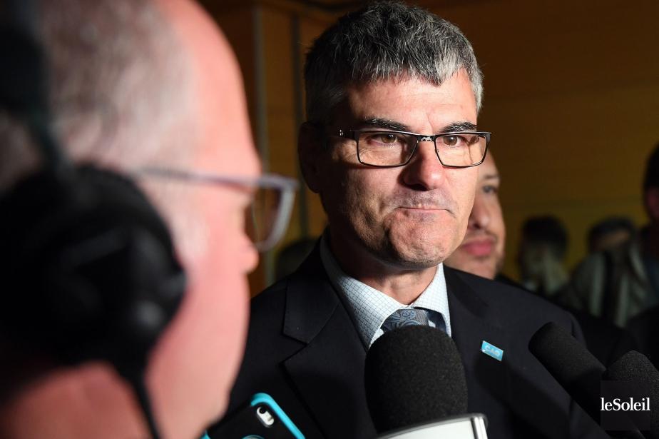 Le député de La Peltrie, Éric Caire, affirme... (Photo Erick Labbé, archives Le Soleil)