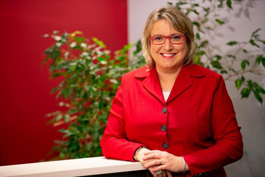 Martine Hébert, vice-présidente principale et porte-parole nationale à... (Photo David Boily, La Presse)