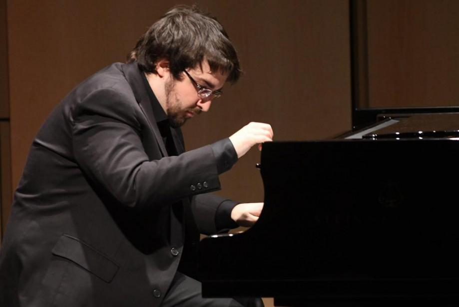 Le pianiste québécoisCharles Richard-Hamelin... (Photo Michel Tremblay, archives Le Quotidien)