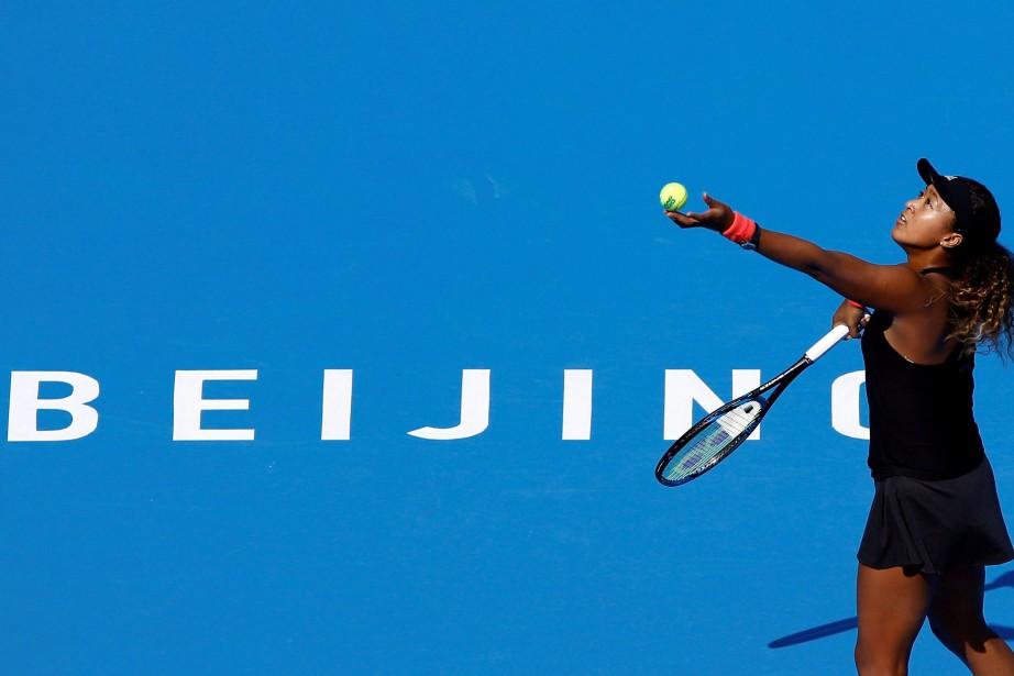 Il s'agit du deuxième tournoi de Naomi Osaka... (Photo THOMAS PETER, REUTERS)