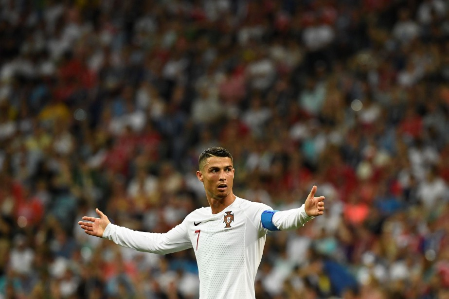 Cristiano Ronaldo... (Photo JONATHAN NACKSTRAND, ARCHIVES AFP)