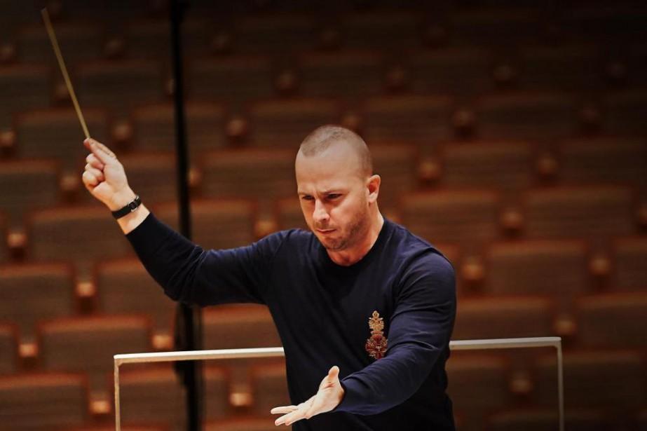 Yannick Nézet-Séguin entamera ce soir sa19esaison avec l'Orchestre... (Photo André Pichette, Archives La Presse)