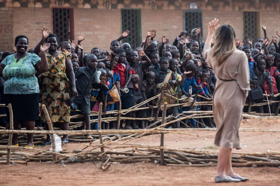 Melania Trump... (Photo SAUL LOEB, Agence France-Presse)
