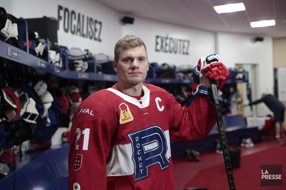 Byron Froeseen est à sa huitième saison dans... (Photo Martin Chamberland, La Presse)