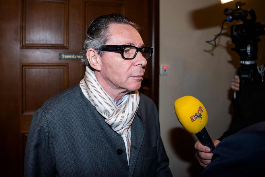 Le Français Jean-Claude Arnault a été condamné cette... (Photo JONATHAN NACKSTRAND, AFP)