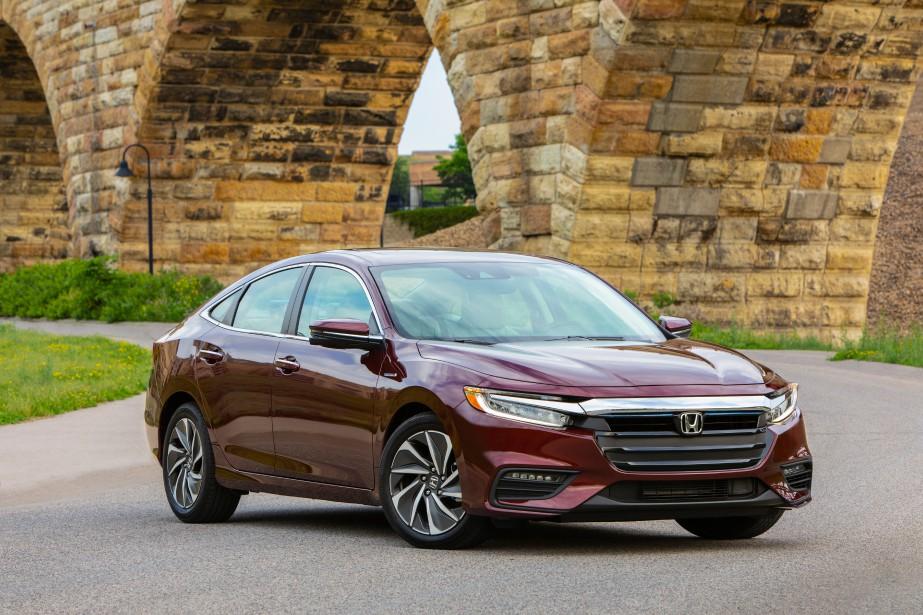 La Honda Insight 2019promet une consommation moyenne de 4,9 L/100 km. (Toutes les photos Honda)