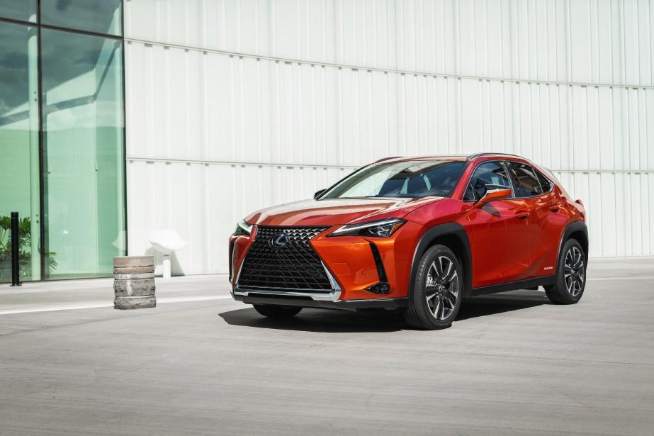 L'UX250h est la seule déclinaison du modèle Lexus UX à bénéficier --grâce à la technologie hybride-- d'un rouage intégral. (Toutes les photos Lexus)