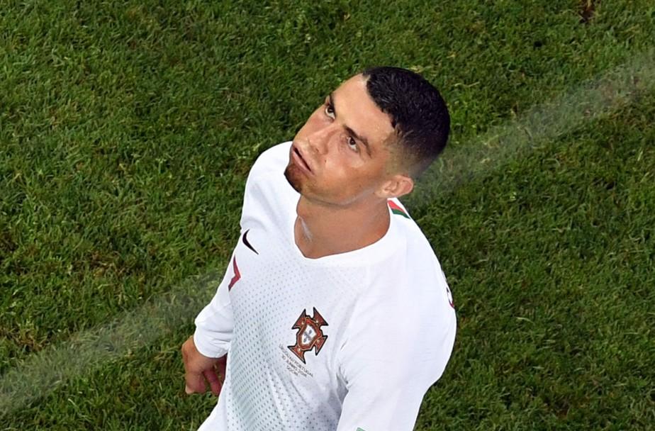 Cristiano Ronaldo a démenti catégoriquement avoir violé une... (PHOTO AFP)
