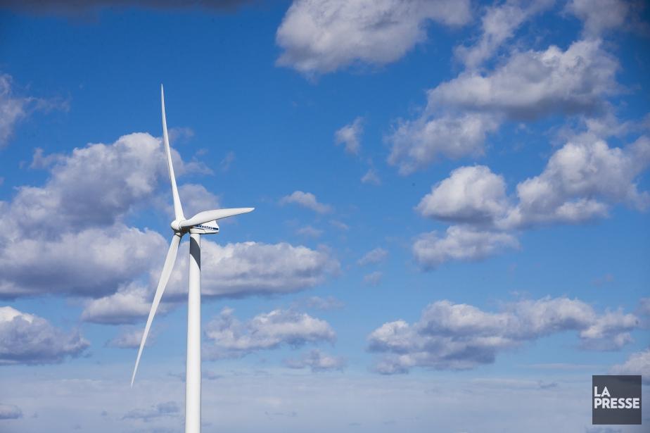 Les éoliennes permettent de... (PHOTO OLIVIER PONTBRIAND, ARCHIVES LA PRESSE)
