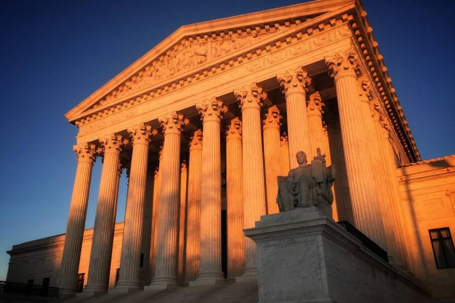 La Cour suprême des États-Unis, à Washington.... (PHOTO AFP)