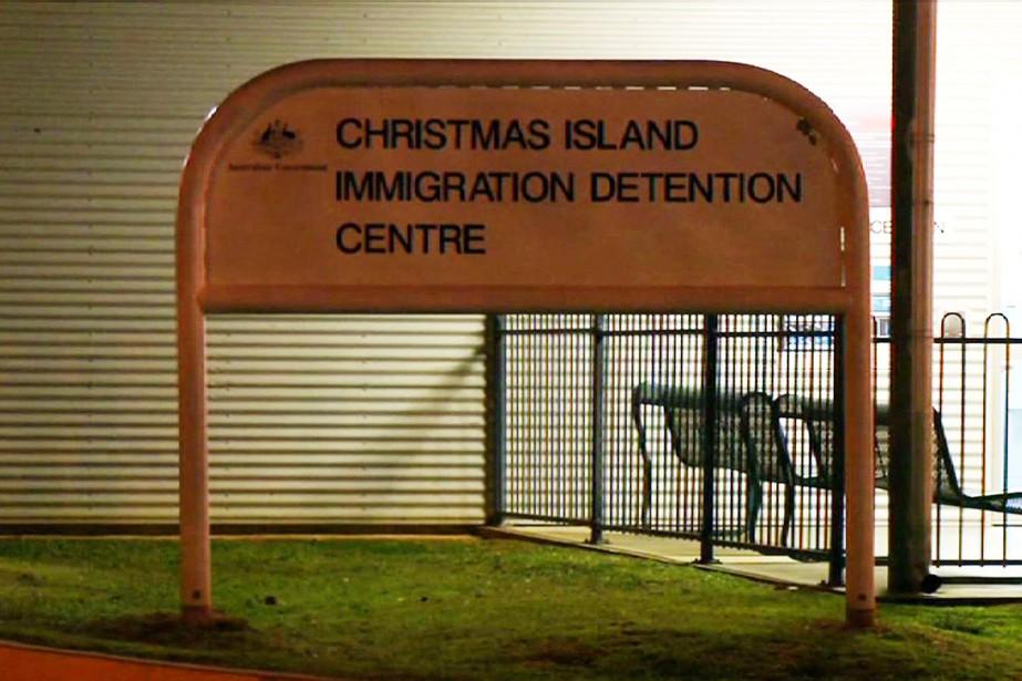 Ouvert en 2008, le camp de détentionde l'île... (ARCHIVES AFP)
