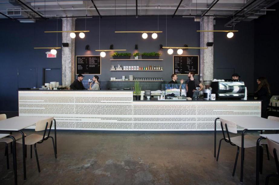Le nouveau café de la SAT diversifie l'offre... (PHOTO IVANOH DEMERS, LA PRESSE)