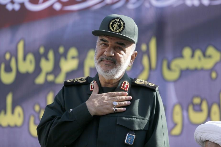 Hossein Salami... (Photo ATTA KENARE, AFP)