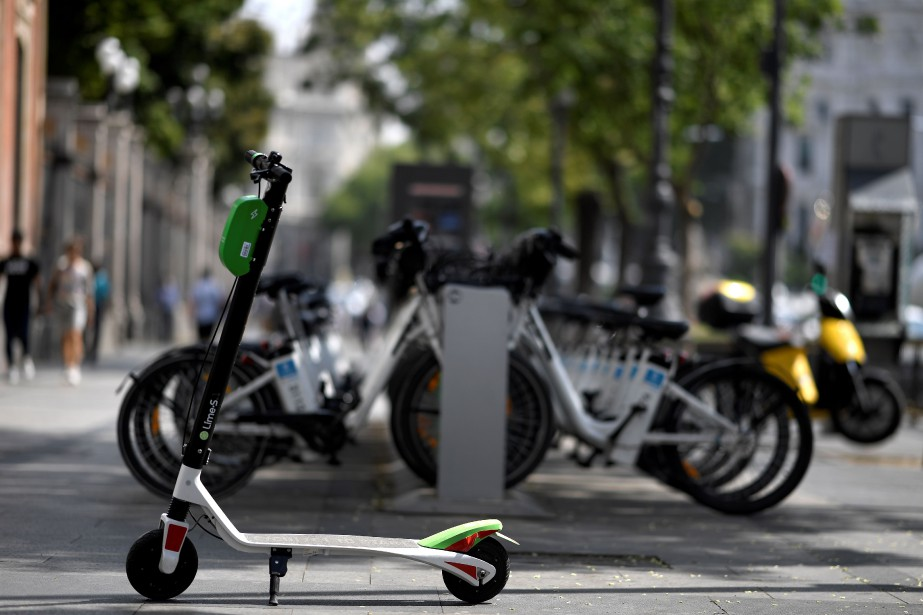 L'irruption de ce nouveau mode de transport a... (Photo Gabriel Bouys, Agence France-Presse)