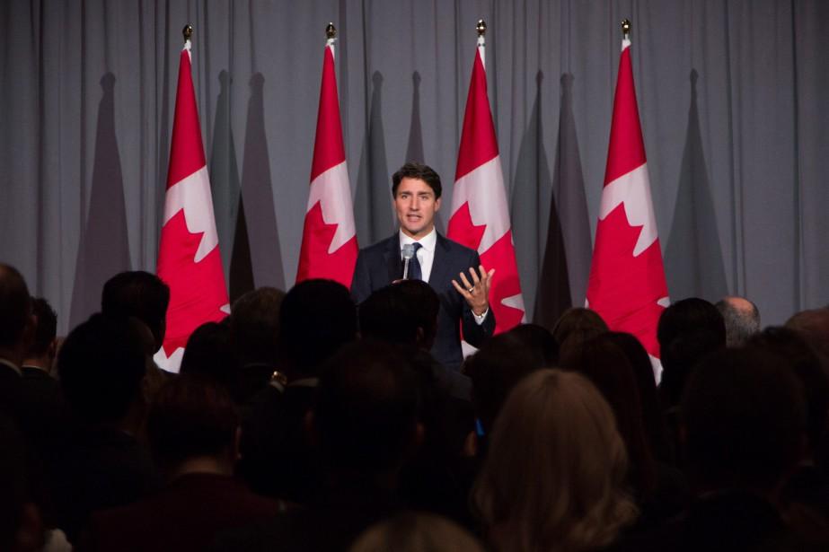 «En tant que gouvernement, nous avons décidé, et... (Photo Troy Shantz, La Presse canadienne)