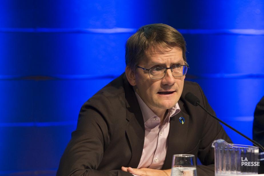 Sylvain Gaudreault a été réélu dans la circonscription... (Photo Olivier Pontbriand, La Presse)