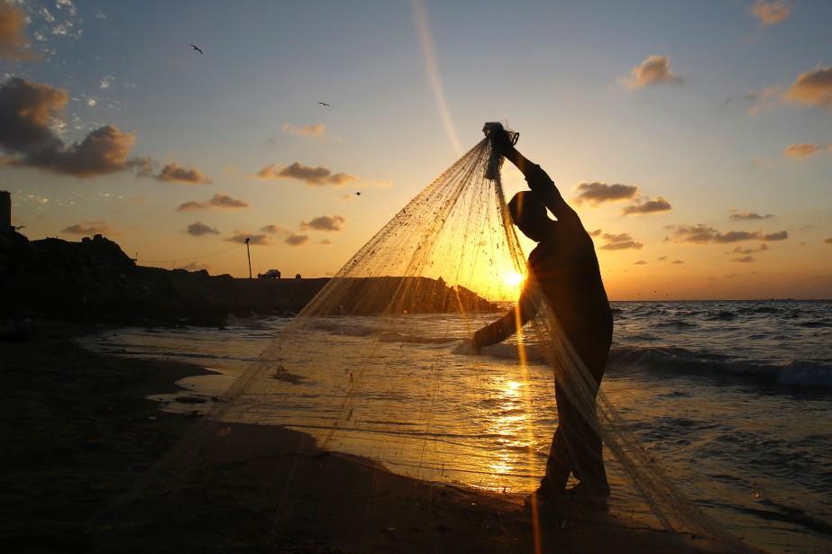 Le contrôle de l'étendue des zones de pêche... (PHOTO JÉRUSALEM, ARCHIVES AFP)
