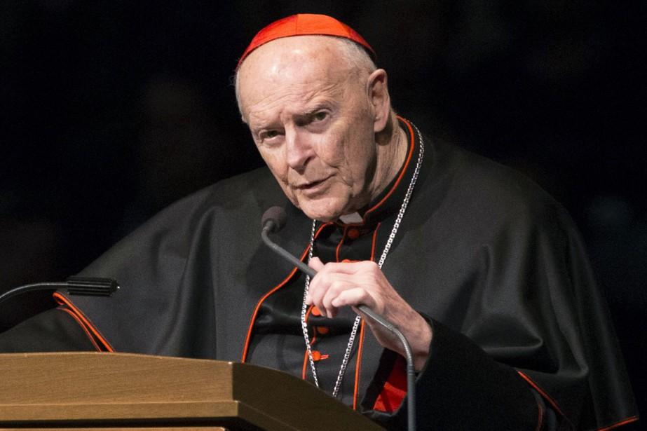 Le cardinal américain Theodore McCarrick ne peut exercer... (PHOTO ARCHIVES AP)
