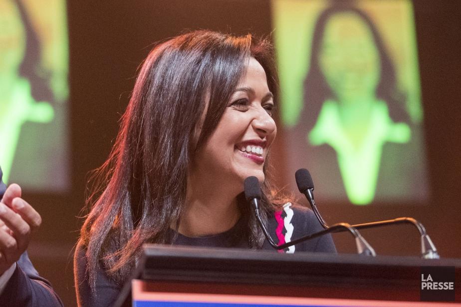 La nouvelle députée de Québec solidaire Ruba Ghazal... (PHOTO MARCO CAMPANOZZI, LA PRESSE)