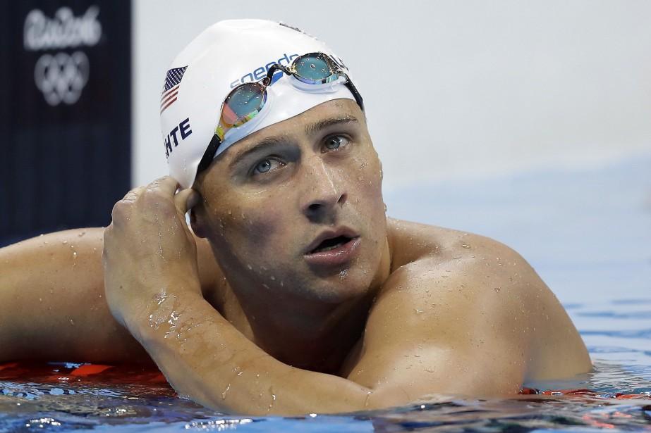 RyanLochte, 34ans, 16fois champion du monde de natation,... (Photo Michael Sohn, AP)