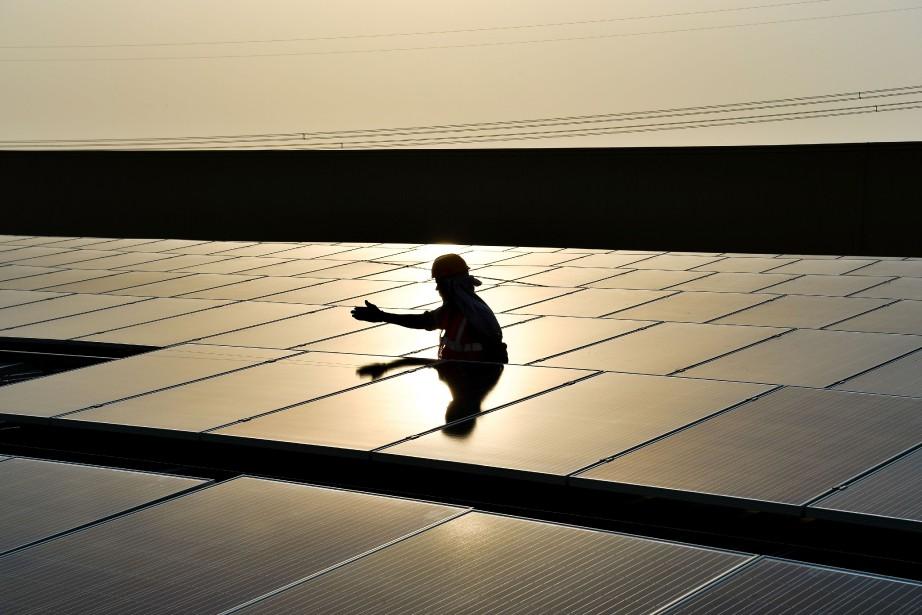 «La bioénergie moderne devrait continuer à dominer et... (PHOTO CHANDAN KHANNA, archives afp)