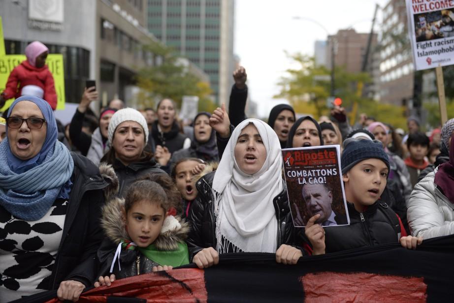 Les organisateurs affirment que la prise du pouvoir... (photo Catherine Lefebvre, collaboration spéciale)