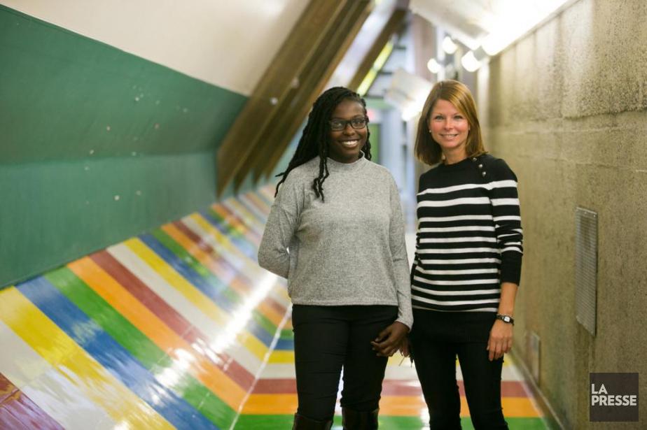 DaniellaJean-Noël est maintenant enseignante à l'école où elle... (Photo François Roy, La Presse)