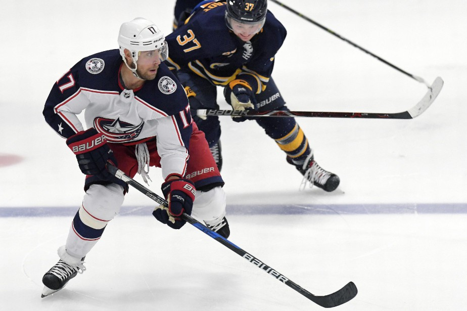 Brandon Dubinsky s'est infligé sa blessure à l'entraînement,... (Photo Adrian Kraus,  archives Associated Press)