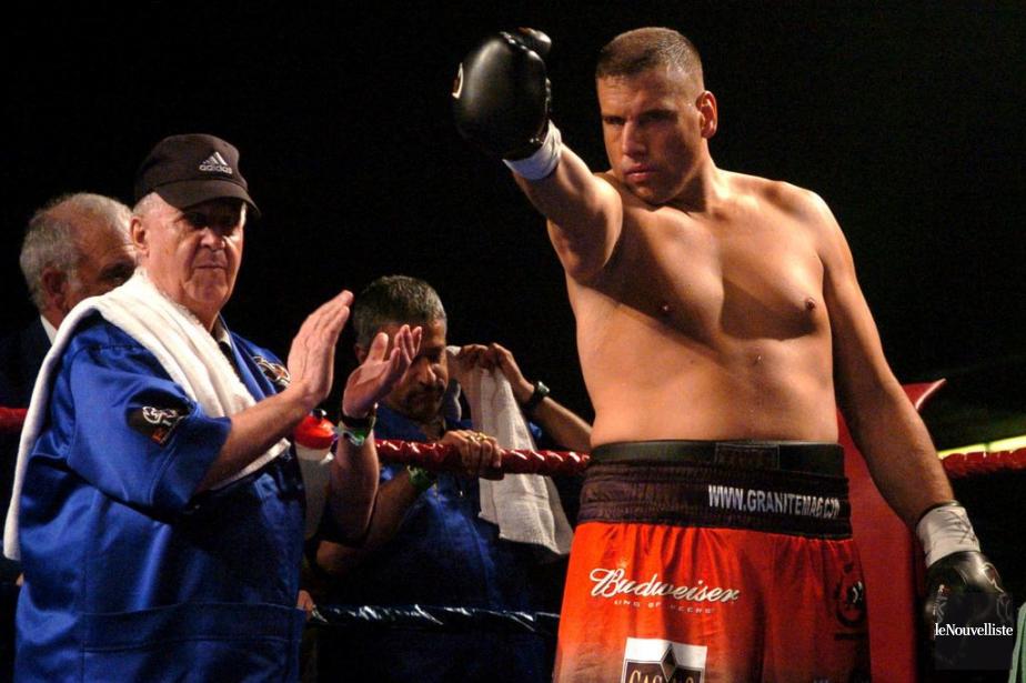 L'ex-champion canadien des poids lourds Patrice L'Heureux a... (PHOTO FRANÇOIS GERVAIS, ARCHIVES LE NOUVELLISTE)