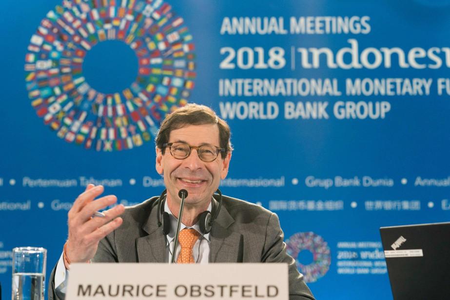 «La croissance économique mondiale est toujours solide comparée... (AFP)