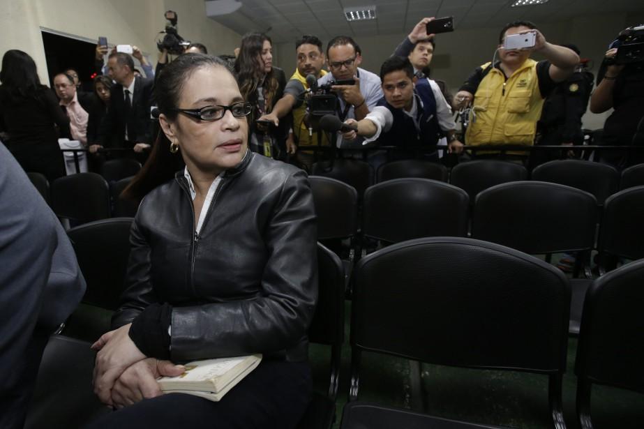 Roxana Baldetti est la première femme à avoir... (Photo Moises Castillo, Associated Press)