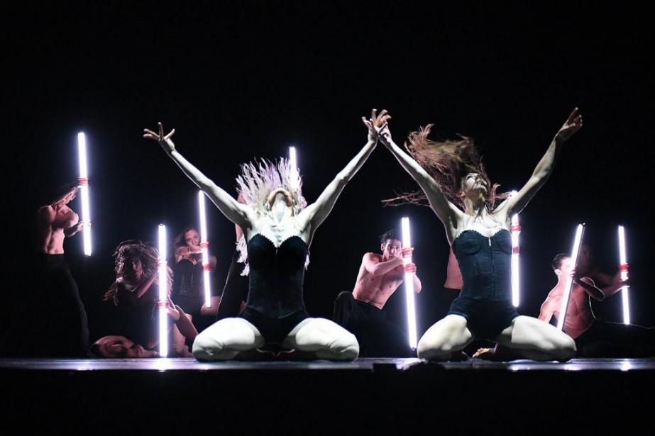 Le chorégraphe Éric Gauthier, qui présente ses spectacles... (Photo fournie par Danse Danse)