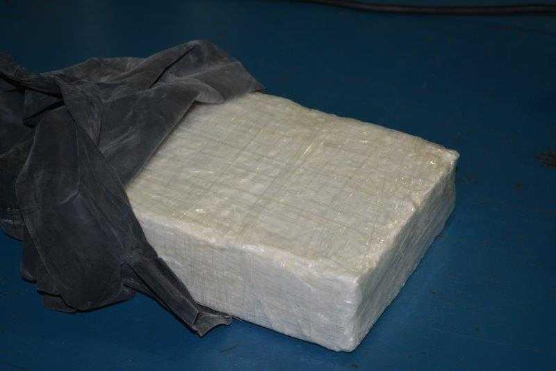 La valeur de la drogue saisie pourrait s'élever... (Photo fournie par l'Agence des services frontaliers du Canada)