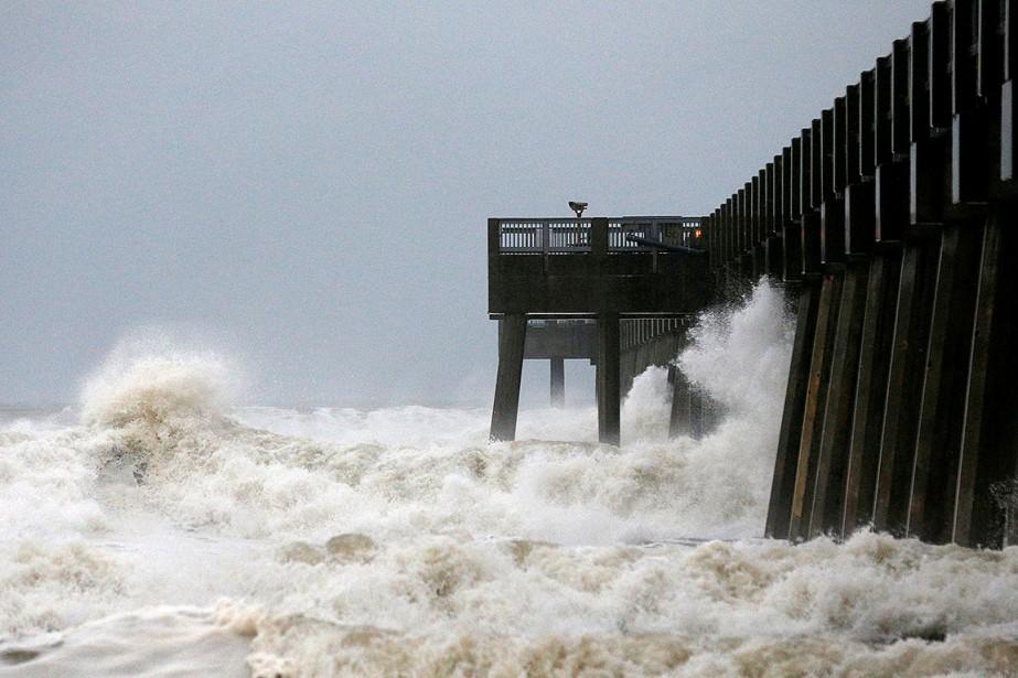 L'ouraganMichaelfrappe la Floride... (Jonathan Bachman, REUTERS)