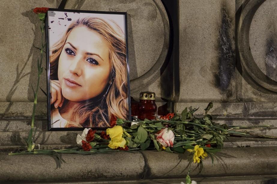 La police rapporte que ViktoriaMarinova a été brutalement... (Photo Filip Dvorski, Associated Press)