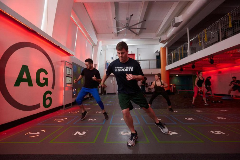 L'«AG6» - entraînement dehaute intensité où le participant... (Photo fournie parAsphalt Green)