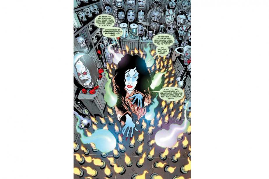 Hungry Ghosts... (Image fournie par Dark Horse Comics)