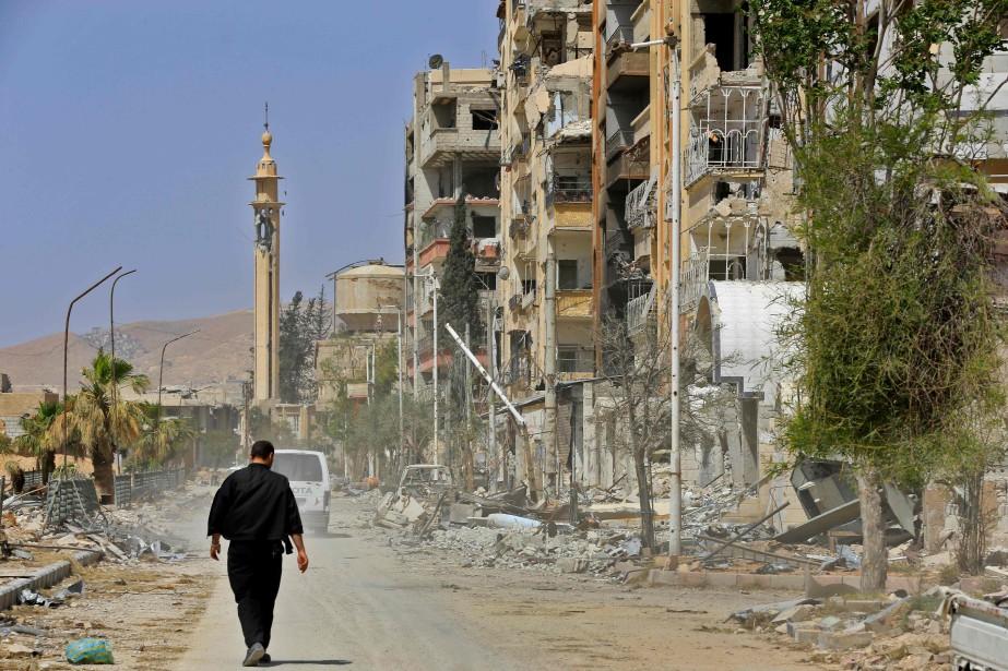 Les Américains conditionnent leur participation à l'énorme tâche... (PHOTO AFP)