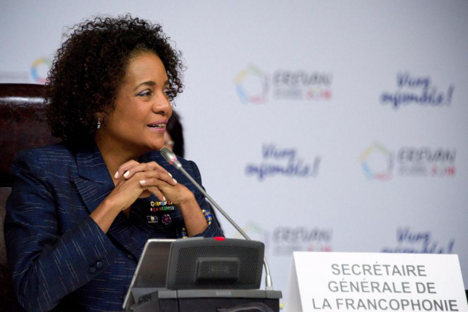 Michaëlle Jean, actuelle secrétaire générale de l'Organisation internationale... (PHOTO KAREN MINASYAN, AGENCE FRANCE-PRESSE)