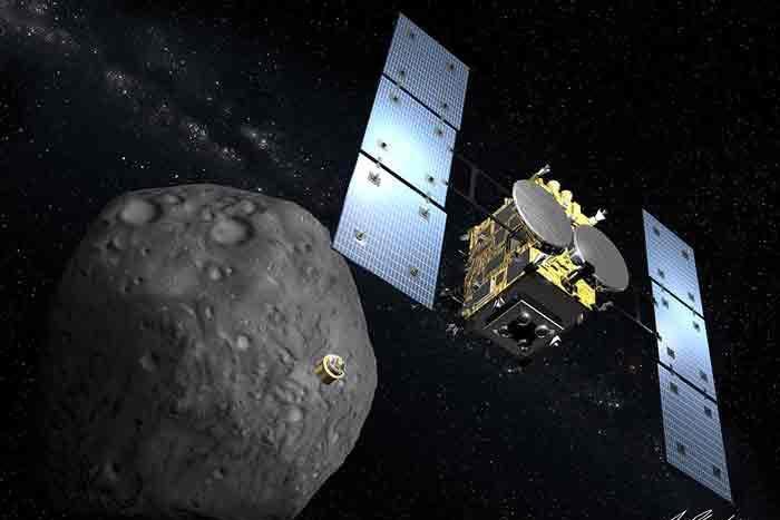 L'aventure a débuté le 3décembre2014 pour la sonde... (Photo archives La Presse)